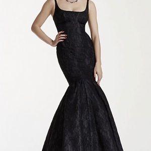 Truly zac posen lace mermaid dress